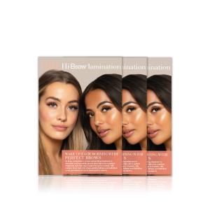 Hi Brow Lamination Salon Leaflet
