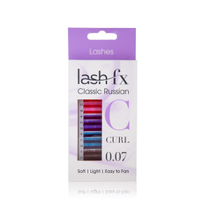 FX Russian Lashes Mixed Coloured