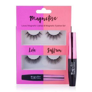 Magnetise Magnetic Lashes & Magnetic Eyeliner Set - Lola & Saffron