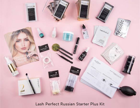 Lash Perfect Russian Volume Eyelash Extensions Starter Plus Kit